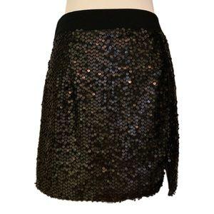 NWT Nanette Lepore Sequined Miniskirt
